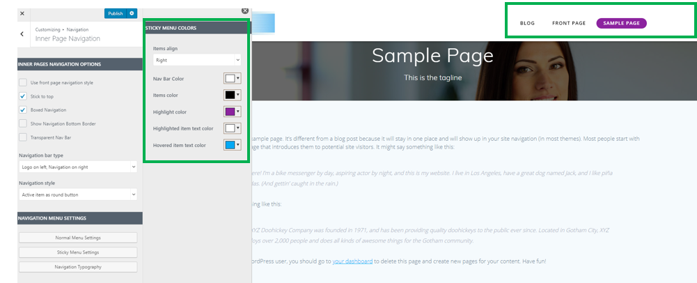 Inner Pages Navigation - EmpowerWP - KnowledgeBase