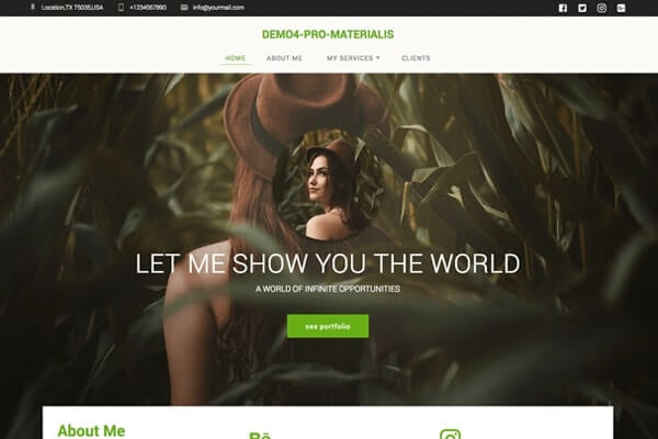 Materialis – Incredibly Customizable WordPress Theme with
