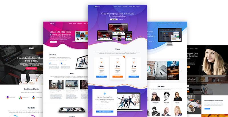 Mesmerize – Free WordPress Page Builder Theme