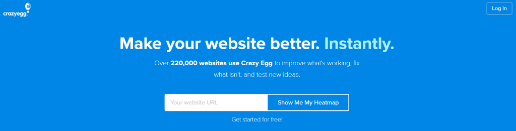 20 beautiful website headers and why they work so well extendthemes crazyegg invited users to make their websites better instantly as if talking to them in person and inspiring a sense of urgency somehow stopboris Images
