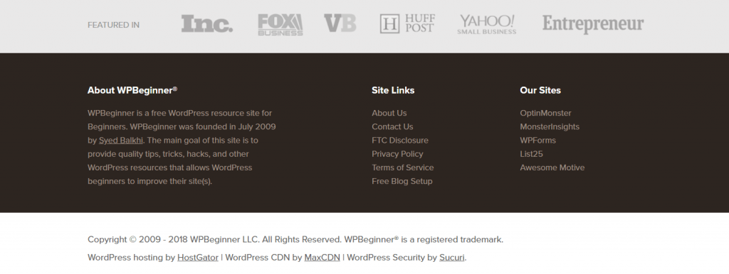 29+ Website Footer Examples And Why They Work So Well
