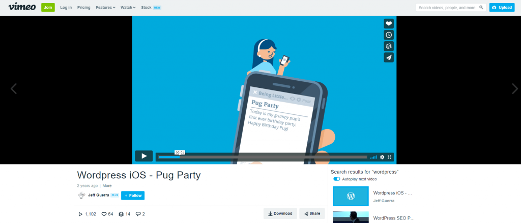 Get Vimeo Url From Embed